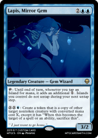 Lapis, Mirror Gem