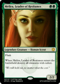 Melira, Leader of Resitance