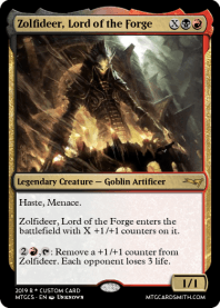 Zolfideer, Lord of the Forge