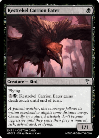 Kestrekel Carrion Eater