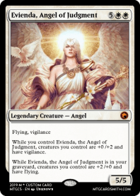 Evienda, Angel of Judgment