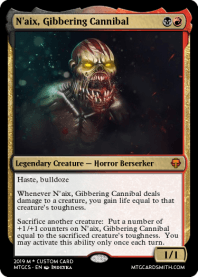 N'aix, Gibbering Cannibal