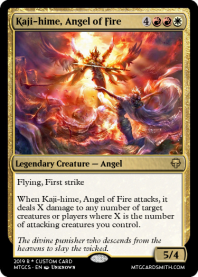 Kaji-hime, Angel of Fire