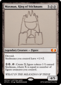Maxman, King of Stickmans
