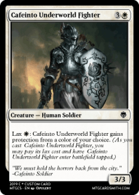 Cafeinto Underworld Fighter