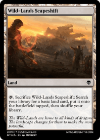 Wild-Lands Scapeshift