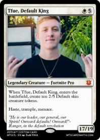 Fortnite cards by Idroger   MTG Cardsmith