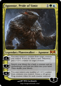 Agonnor, Pride of Simic