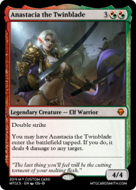 Anastacia the Twinblade