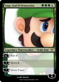Luigi, God Of Destruction