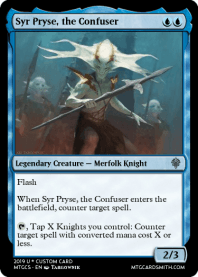 Syr Pryse, the Confuser