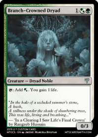 Branch-Crowned Dryad