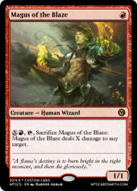 Magus of the Blaze