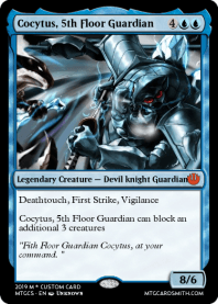 Cocytus, 5th Floor Guardian