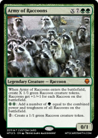 Army of Raccoons