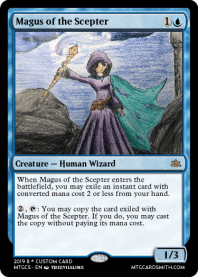 Magus of the Scepter