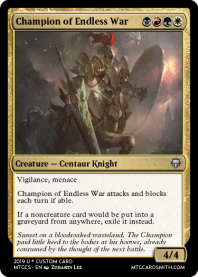 Champion of Endless War