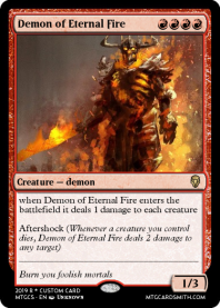 Demon of Eternal Fire