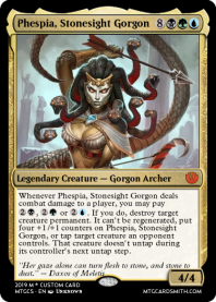 Phespia, Stonesight Gorgon
