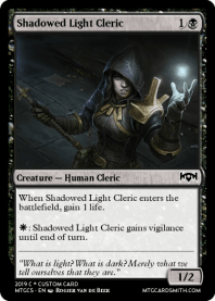 Shadowed Light Cleric