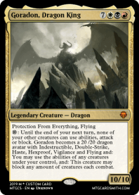 Goradon, Dragon King
