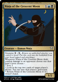 Ninja of the Crescent Moon