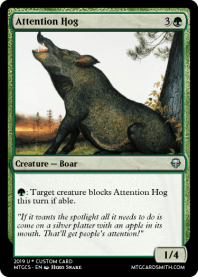 Attention Hog