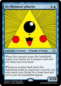 the illuminati pikachu