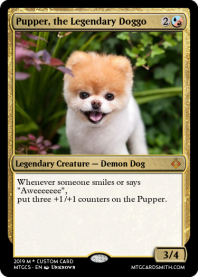 Pupper, the Legendary Doggo