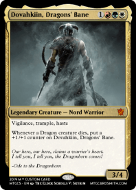 Dovahkiin, Dragons' Bane