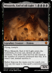 Miraxeth, End of All Light
