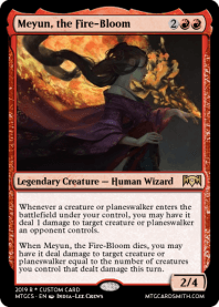 Meyun, the Fire-Bloom