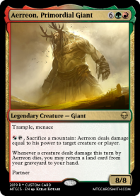 Aerreon, Primordial Giant