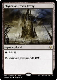 Phyrexian Tower Proxy