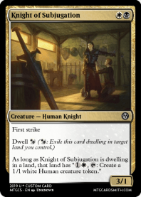 Knight of Subjugation