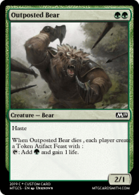 Outposted Bear