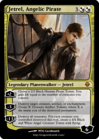 Jetrel, Angelic Pirate