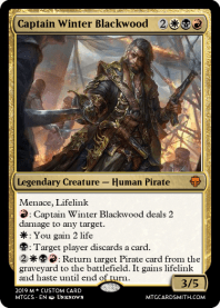 Captain Winter Blackwood
