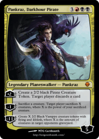 Pankraz, Darkhour Pirate