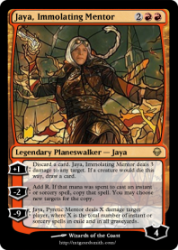 Jaya, Immolating Mentor