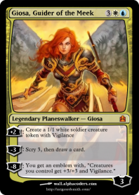 Giosa, Guider of the Meek