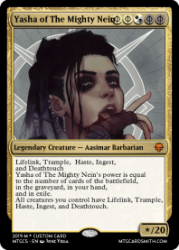Yasha of The Mighty Nein