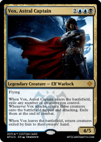 Vox, Astral Captain