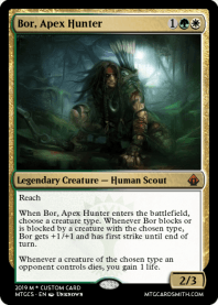Bor, Apex Hunter