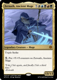 Zernath, Ancient Mage