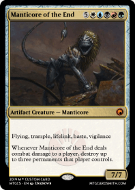 Manticore of the End