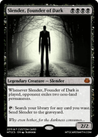 Slender, Founder of Dark