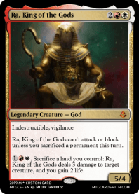 Ra, King of the Gods