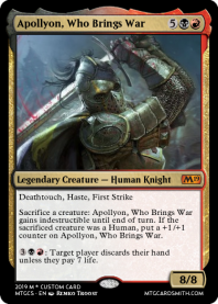 Apollyon, Who Brings War