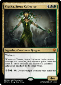 Vraska, Stone Collector